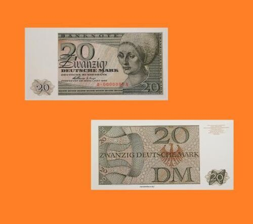 Germany 20 Mark 1963 UNC Reproductions