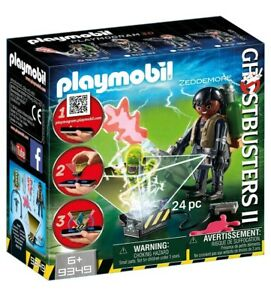 Playmobil GHOSBUSTERS 9349 ZEDDMORE NEUF SOUS BLISTER
