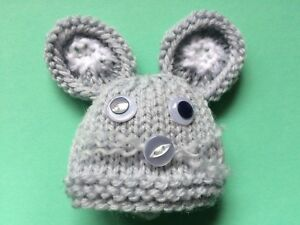 Grey Mouse cat dog rabbit Christmas gift EGG Cozy // Cosy  Animal designs