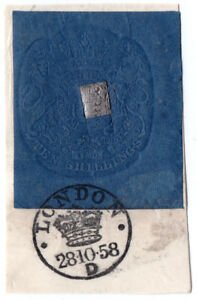 I-B-QV-Revenue-Impressed-Duty-10-London-1858