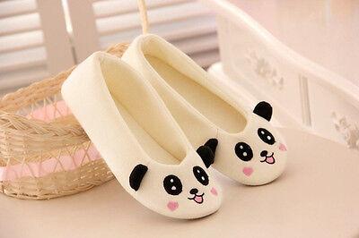 Anti-slip Women Cartoon Indoor Home Winter Warm Soft Cute Animal Slippers Shoes