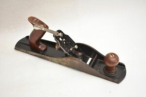 VINTAGE No. 5 Wood Plane W/ Wooden Handle & Knob Beautiful Antique Made in USA