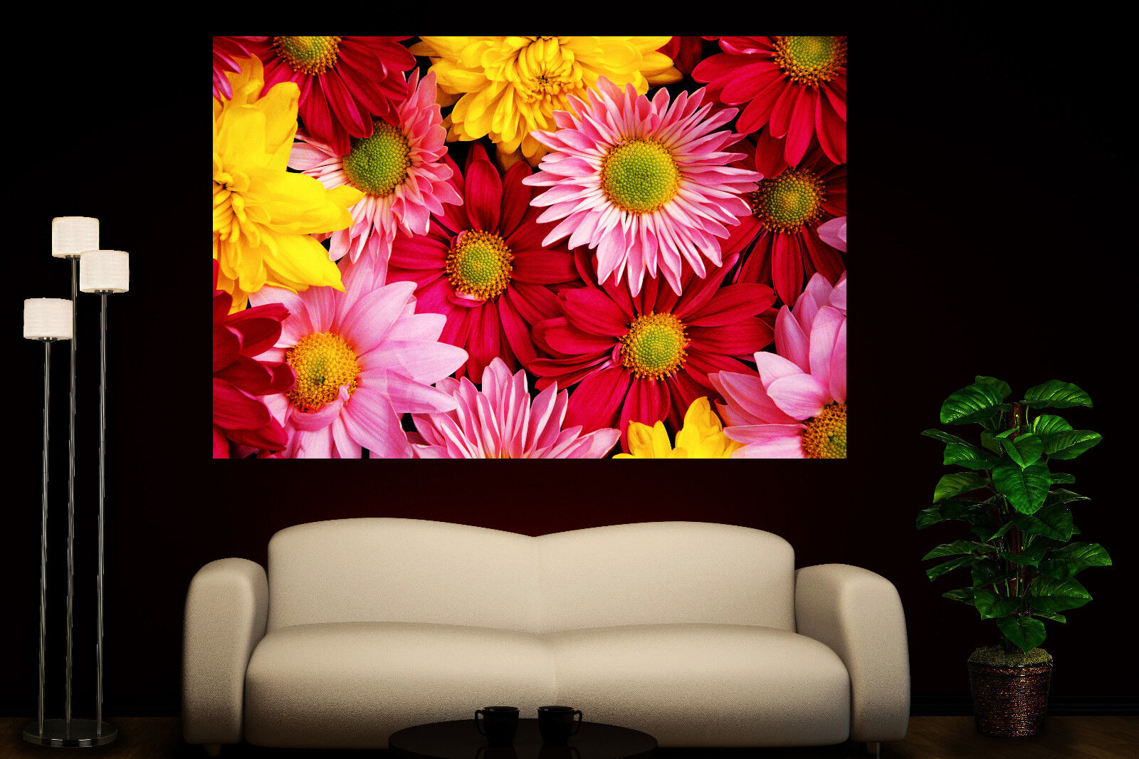Canvas Giclee Prints Wall Art Flowers Photo Coloreeful Print Home Decor 1 2