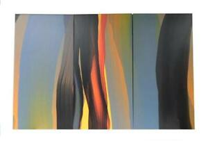 21ST-CENTURY-TRIPTYCH-DEPICTING-ABSTRACT-COMPOSITION-OF-COLORFUL-STRIATIONS