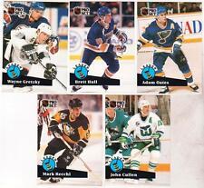 1991-92 Pro Set CC5 CC6 CC7 CC8 CC9 Five Card Insert Set - Gretzky, Hull + More