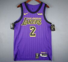 d932f3d95a1 Authentic Lonzo Ball Nike City Edition Lakers jersey Size 44 L Mens Los  Angeles