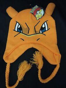 af02f17045f Image is loading Pokemon-Charizard-Fire-Dragon-3d-Face-Laplander-Pilot-