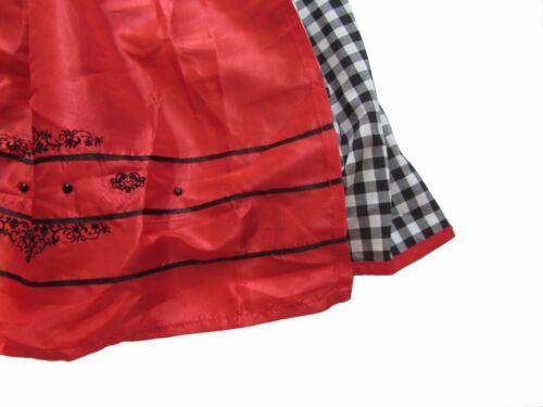 Stockerpoint Dirndl Stephanie Midi 34 36 38 40 42 44 Tracht Wiesn schwarz rot
