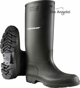 Dunlop-Gummistiefel-Anglerstiefel-Arbeitsstiefel-Gr-40-45
