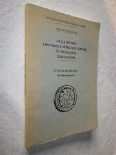LA COLLECTION DES POIDS DE VERRE POLYCHROME MUSEE CIRTA CONSTANTINE  LAILY signé