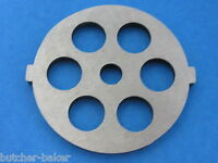 1/2 Course Grind Meat Grinder Plate Disc Die For Electric Rival Sunmile Deni