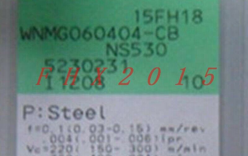 10pcs Box NEW Tungaloy WNMG060404-CB NS530