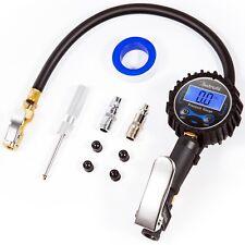 AstroAI Tire Inflator with Pressure Gauge 100 PSI Air Chuck Compressor Access...