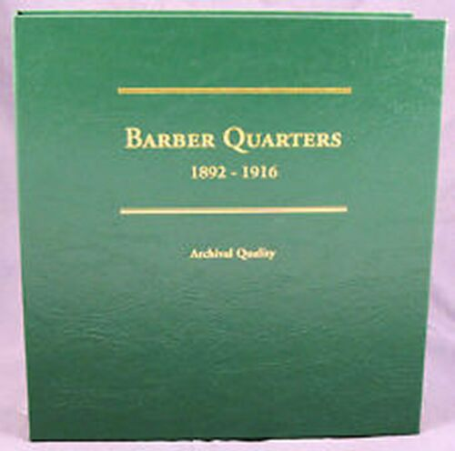 Littleton Album LCA26 Barber Quarter 1892-1916 Archival Quality