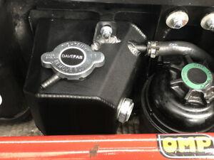 DaveFab R53 Mini Cooper S Aluminium Expansion Header Coolant Tank with Cap