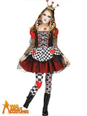 Queen of Hearts  fancy dress  book character  One size 10 12 14 Halloween