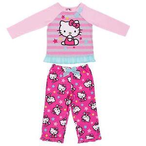 4f833ab2d Sanrio Hello Kitty Girl Tulle Ruffle L/S Top Pants Fleece Winter ...