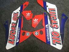Honda CRF150 2007-15 Troy Lee Designs Lucas Oil radiator shroud graphics GR1476