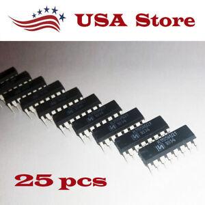 k155id1 *100 pcs* Driver for Nixie Tubes SN74141N SN74141J 74141 NEW chip