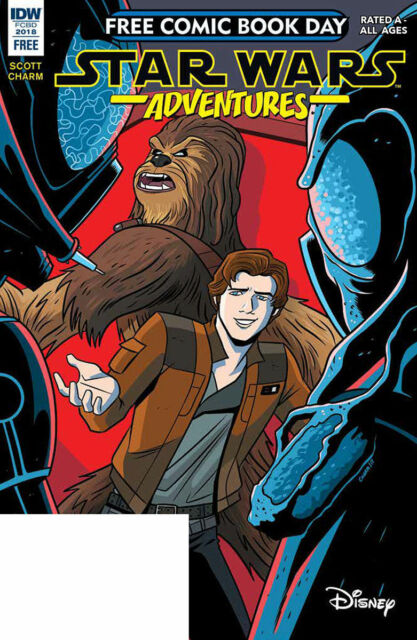 FCBD Star Wars Adventures IDW comic 2018 no stamp NM