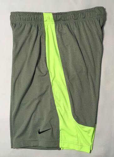 Nike Flex Woven Men/'s Training Gray//Green Shorts 742517-050 NWT MSRP $35