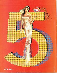 Publicité Advertising 108  2002    parfum Chanel N° 5