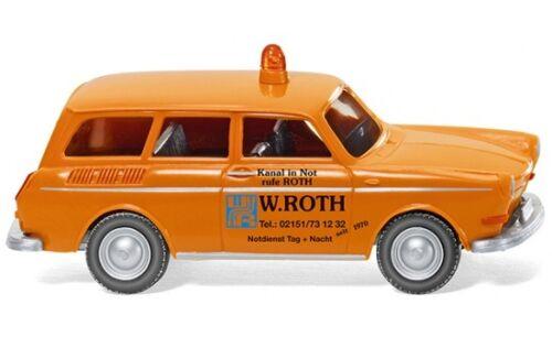 "Wiking pronto intervento-VW 1600 Variant /""W 1:87 #004201 Roth/"""