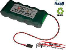 Leistungs Empfängerakku X-Cel SCR 6V3600 mAh, Stecker frei wählbar...