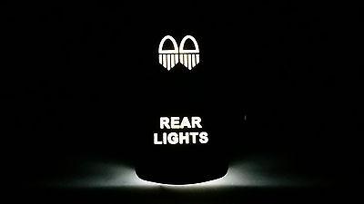 UNIVERSAL OFFROAD ARSENAL JEEP REAR LIGHTS LED LIGHT BAR ROCKER DASH SWITCH