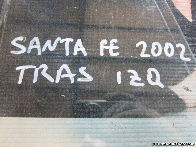s l1600 - Triángulo Cristal de la puerta trasero izquierdo Santa Fe I 2002 43R001234