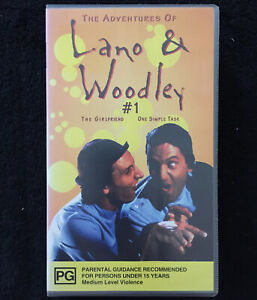 The-Adventures-of-Lano-amp-Woodley-1-The-Girlfriend-One-Simple-Task-VHS-PAL-VIDEO