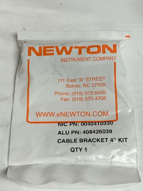 """NEWTON INSTRUMENT COMPANY 0040410330 408426039 Cable Bracket 4/"""" Kit *2 PACK*"""