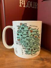 New 222 Fifth My Place State of Alabama Coffee Mug Cup Jumbo 28oz ceramic