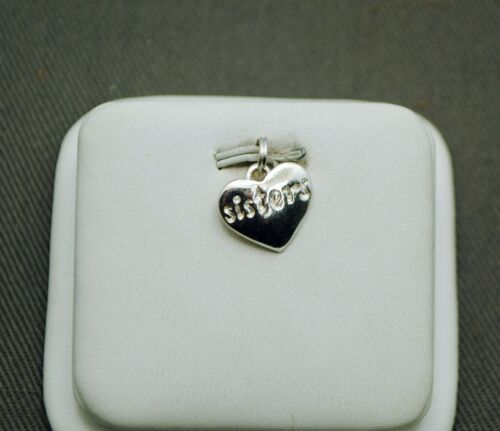 """STERLING SILVER """"SISTERS"""" PENDANT #FMJ418"""