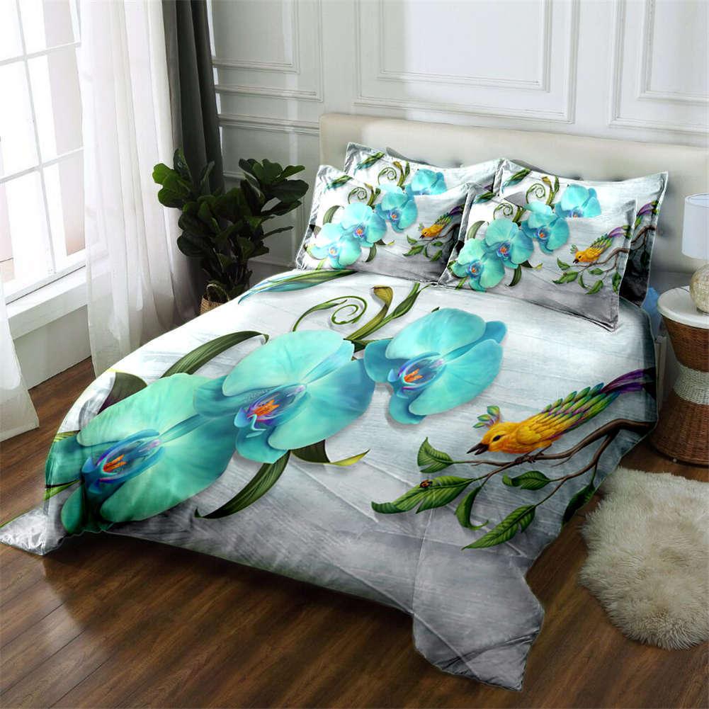 Pease Beauty 3D Printing Duvet Quilt Doona Covers Pillow Case Bedding Sets