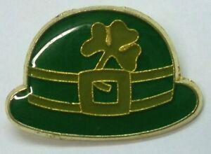 ST PATRICK/'S DAY SHAMROCK IRISH CLOVER LAPEL PIN HAT TAC NEW