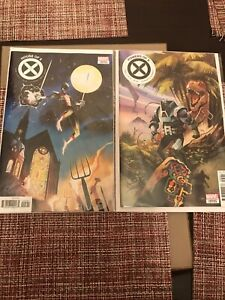 House-of-X-Powers-of-X-5-1-10-Variant-Xmen-Set-Lot-NM-2019-MARVEL-COMICS