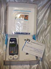 WorldPay Verifone Omni 5100 Ethernet Credit Card Transaction Terminal W/ Printer
