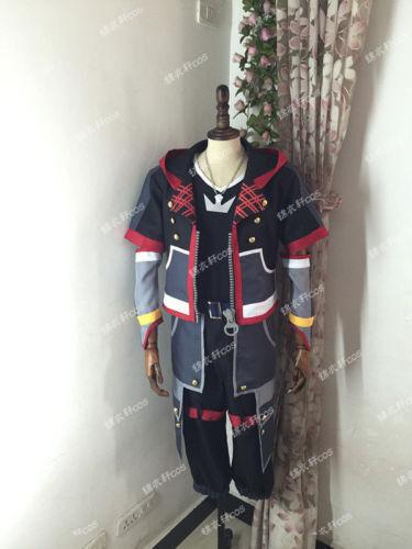 Kingdom Hearts 3 III Sora Cosplay Costume Outfit set