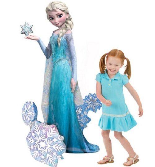 "Disney Frozen Princess Elsa 57"" AIRWALKER Giant Gliding Balloon 57in Tall"