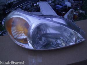 Image Is Loading 2001 2002 Kia Rio Right Headlight Oem Original