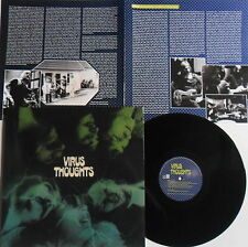 LP VIRUS Thoughts - Re-Release LONG HAIR MUSIC LHC127 - STILL SEALED