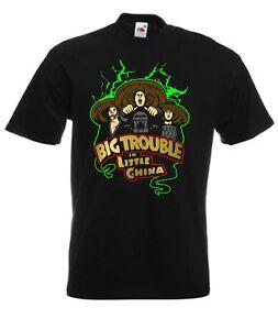 Tre-TEMPESTE-BIG-Trouble-in-Little-China-Retro-Movie-T-Shirt