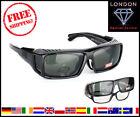 Polarised Glasses Sunglasses Black Revo Sport Eyeglasses Case Bicycle