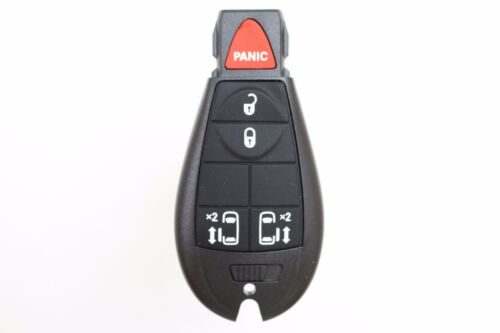 NEW Keyless Entry Key Fob Remote 5 BUTTON CASE ONLY For 2008 Dodge Grand Caravan