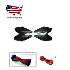 """Replacement Rubber Pads Pedal for 8"""" Self Balancing Scooter Hover Board Black"""