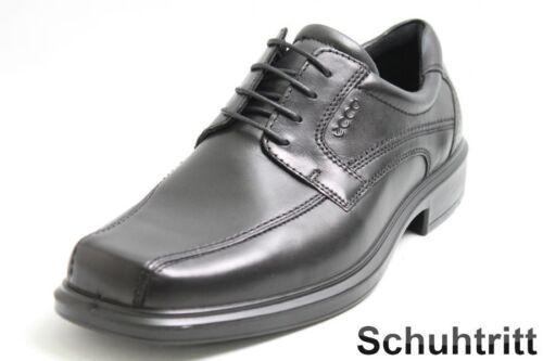 Ecco Cuir En Business Chaussures Noir qnYRp