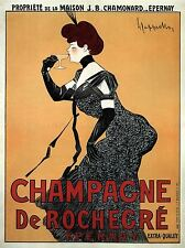 COMMERCIAL ADVERT CHAMPAGNE ALCOHOL FRANCE POSTER ART PRINT BB1726A