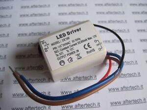 Aftertech/® DRIVER LED 1 x 1w 350mA COSTANTE INPUT 100~260V B4C8