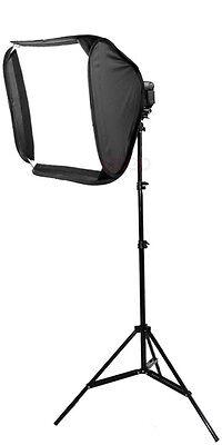 40cm Portable Soft Box + Light Stand kit Flash Speedlite SB800/SB600 580EXII
